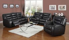 Acme Furniture - Dacey 3 Piece Living Room Set in Espresso - 50740-3SET