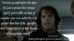 I swore an oath...author Diana Gabaldon