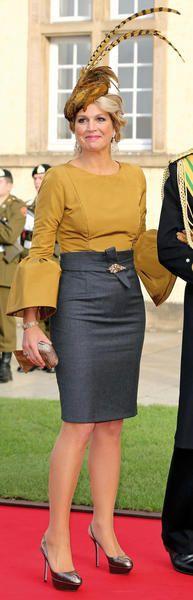 La princesa Maximade Holada, su estilo a examen