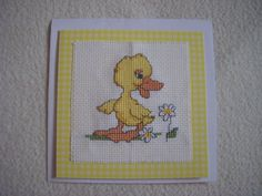 Easter Duckling card for my parents.