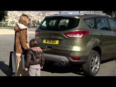 New Ford Kuga with hands-free automatic tailgate (OV) Ford, Hands, Youtube, Youtubers, Youtube Movies