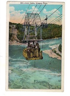 264 Aero Cable Niagra Falls postcard by sharonfostervintage, $1.50
