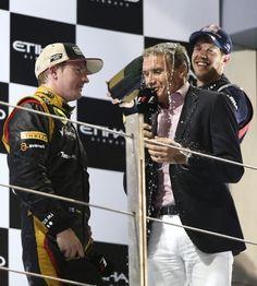 Kimi, Seb & David David Coulthard, Car And Driver, Formula One, Grand Prix, F1, Cars, People, Autos, Car