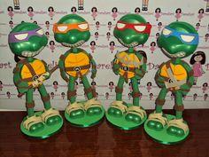 Dareliart: Tartarugas Ninjas 35 cm - Encomenda da Jaqueline