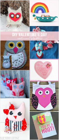 My Owl Barn: 10 DIY Valentine's Day Owl Gift Ideas