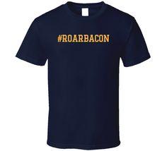 Hashtag Roar Bacon Funny Trending St Louis Hockey Fan T Shirt