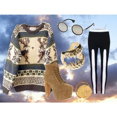 Geeky, created by rebeccaalonzo on Polyvore