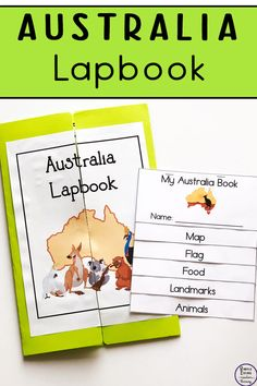 To learn more about Australia, this Australia Lapbook contains lots of fun and interesting elements. It is a great hands-on activity for children to learn about this unique country and its history. Continents Activities, Geography Activities, Geography For Kids, Teaching Geography, Hands On Activities, Dinosaur Activities, Australia For Kids, Australia School, Australia Crafts