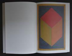Sol LeWitt / artist book # 100 CUBES # 1996, Cantz, mint