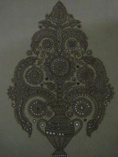 kutch mud art | Design Decor & Disha: Indian Art: Lippan Work(Gujarat & Rajasthan Art)