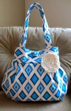 NEW I Sea Diamonds Lily Bag by ThePlumPinCushion on Etsy, $48.00