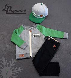 Cap: Portland - Green / Sweatshirt: Robson / Pants: Skinny - Black * L&P exclusive *
