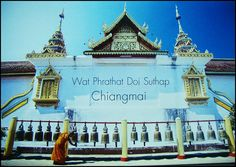 "Postcard from Chiang Mai , Thailand  ""Doi Su Thep"""