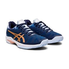 Asics Gel-Solution Speed FF Clay Peacoat/Rose Gold