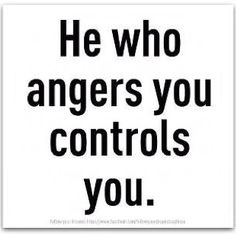 Oh no, I need to stop letting our fearless leader anger me...she can't control ME!