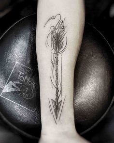 Arrow Tattoo on Forearm