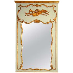 Louis XVI Style Trumeau   From a unique collection of antique and modern trumeau mirrors at http://www.1stdibs.com/furniture/mirrors/trumeau-mirrors/