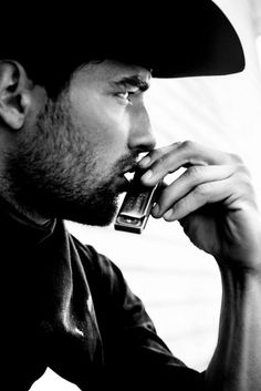 ...and he will play the harmonica. A man who can play the harmonica must never be ignored. Ever.