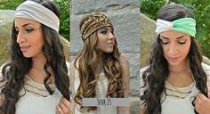 3for25 Head Wraps, Aztec floral hippie Head Band