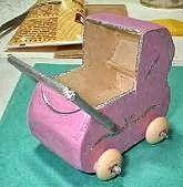 Creatief in Mini's: Poppenwagen