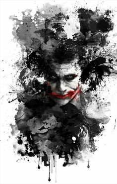 "boudicca: """"The Joker"" - by ryky from deviantart ""Smile, because it confuses people. Smile, because it's easier than explaining what is killing you inside"" ― The Joker - Heath Ledger "" Joker Photos Hd, Joker Images, Joker Pics, Joker Art, Joker Batman, Joker Mobile Wallpaper, Homescreen Wallpaper, Cute Disney Wallpaper, Dark Wallpaper"