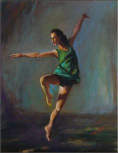 Maryanne Jacobsen (Venice, Victoria, United States) :Dear Anneta, Thank-you for the inspiration! I am very glad that you like the painting! Dance! Dance!