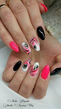 by Monika Szurmiej Tutaj Indigo Young Team, Follow us on Pinterest. Find more inspiration at www.indigo-nails.com #nailart #nails #indigo #pink