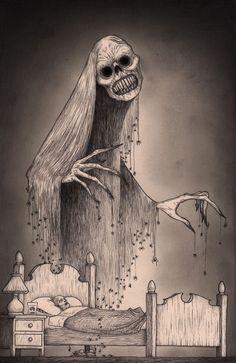 Terrifying Drawings of Monsters by John Kenn Mortensen