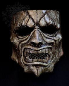 Oni Mask by SatanaelArt on Etsy, $80.00
