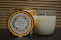 Orange Blossom scented candle from Bougies La Francaise - Enjoy +/- 45 hours of burn time