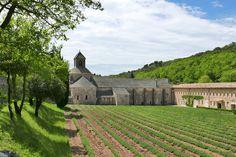 Abbaye de Notre Dame near Gordes, France