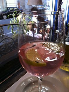 lavender-drink from Pomodoro, Bp