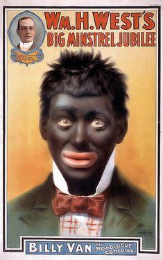AFRICAN AMERICAN ART PRINT Blackface Minstrel Documentary Poster 1935 6
