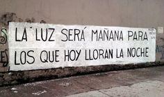 La luz será mañana para los que hoy lloran de noche #Acción Poética Ecuador #accionpoetica