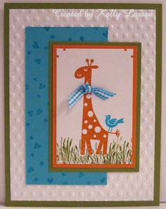 CC341 - Baby Shower by stamping_KML - Cards and Paper Crafts at Splitcoaststampers