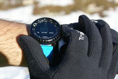 Summit #suunto Core Blue, Gant #raidlight.