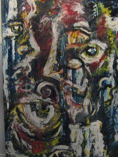 """Piedrigotta"" - mix on canvas -  - size 150x100 -  - created year 2015 -"