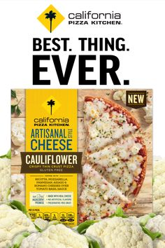 California Pizza Kitchen Cauliflower Crust Frozen Pizza is the best thing ever! … – news Vegetarian Barbecue, Vegetarian Recipes, Healthy Recipes, Oven Recipes, Vegetarian Cooking, Easy Recipes, California Pizza Kitchen, Thin Crust Pizza, Cauliflower Crust Pizza