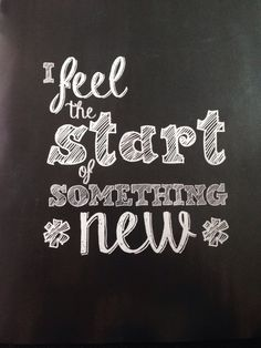 I feel the start of something new #nieuwe baan