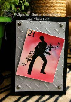 Groovin' 21st Card