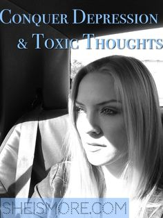 Video included: I struggled with depression for years and thought I would never get out of it. But, when I realized that the enemy's attacks start in my mind, I learned that I had a role in declaring war against any thought that wasn't from God...