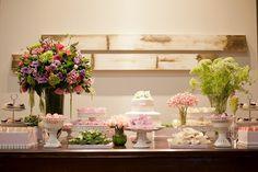 mesa de doces aniversário