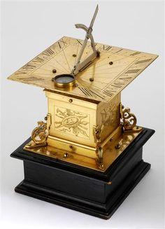 Horizontalsonnenuhr - horizontal sundial -- Dresden, Germany, 1611