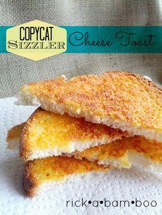 Copycat Sizzler Cheese Toast