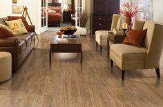 Olson Rug - Mohawk - Barrington Natural Oak laminate flooring