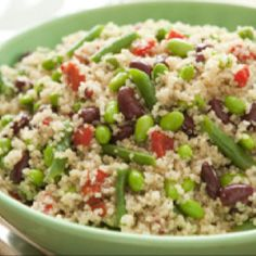 Delicious quinoa salad. Gluten/wheat free, dairy free.