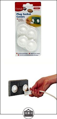 Clippasafe UK Socket Covers (Pack de 4unidades), Check Toys and Baby Colour, 1 pack  ✿ Seguridad para tu bebé - (Protege a tus hijos) ✿ ▬► Ver oferta: http://comprar.io/goto/B011SFCNFK
