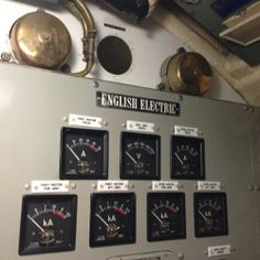 English Electric onboard the HMAS Ovens submarine, Fremantle Maritime Museum, Round House, Shipwreck, Ovens, Western Australia, Perth, Museums, Galleries, Electric