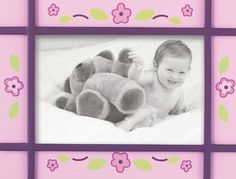 CoCaLo Baby Sugar Plum Picture Frame