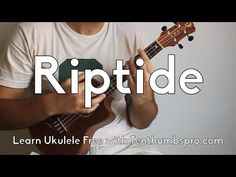 Riptide - Vance Joy - Super Easy Beginner Ukulele Tutorial - How to play Ukulele for Beginners Ukulele Songs Beginner, Uke Songs, Guitar Tips, Guitar Lessons, Piano Lessons, Cool Ukulele, Ukulele Tabs, Vance Joy, Guitar For Beginners